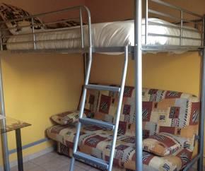 lit mezzanine en fer 2 places d 39 occasion petites. Black Bedroom Furniture Sets. Home Design Ideas