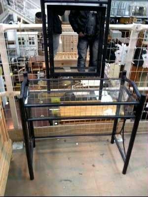 coiffeuse d 39 occasion. Black Bedroom Furniture Sets. Home Design Ideas