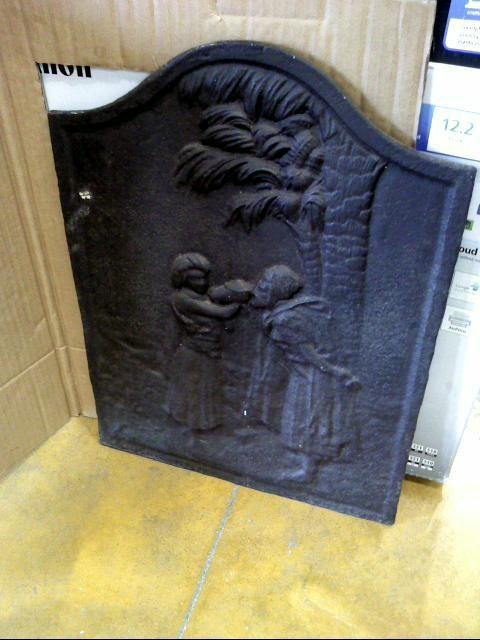 plaque de cheminee fonte d 39 occasion. Black Bedroom Furniture Sets. Home Design Ideas