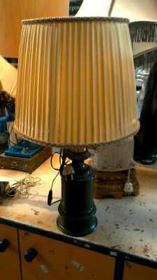 lampe vintage vert d 39 occasion. Black Bedroom Furniture Sets. Home Design Ideas