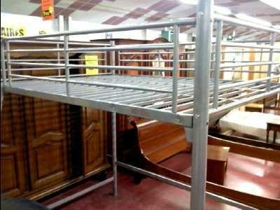 Lit mezzanine metallique 140x190 d 39 occasion - Lit mezzanine 140x190 ...
