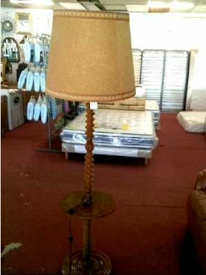 lampadaire ancien bois d 39 occasion. Black Bedroom Furniture Sets. Home Design Ideas