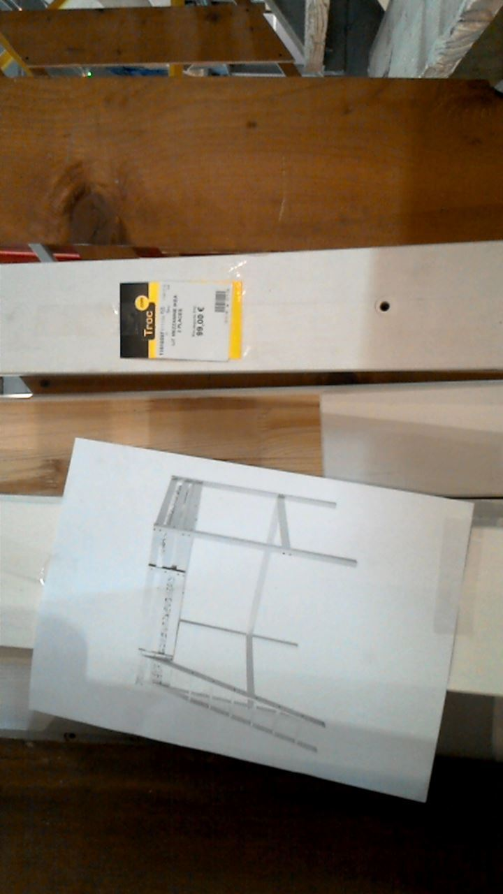 lit mezzanine d 39 occasion. Black Bedroom Furniture Sets. Home Design Ideas