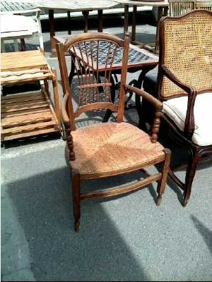 fauteuil rustique d 39 occasion. Black Bedroom Furniture Sets. Home Design Ideas