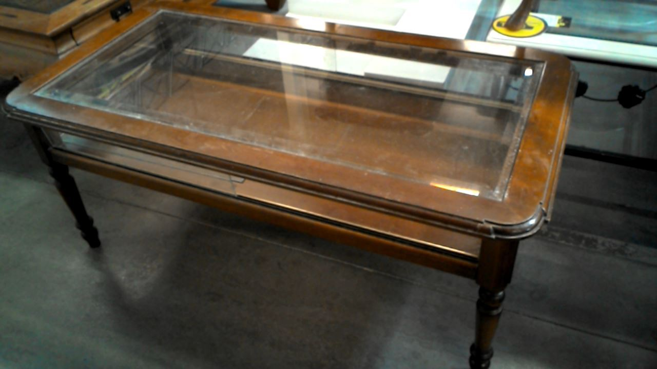table basse vitrine occasion. Black Bedroom Furniture Sets. Home Design Ideas